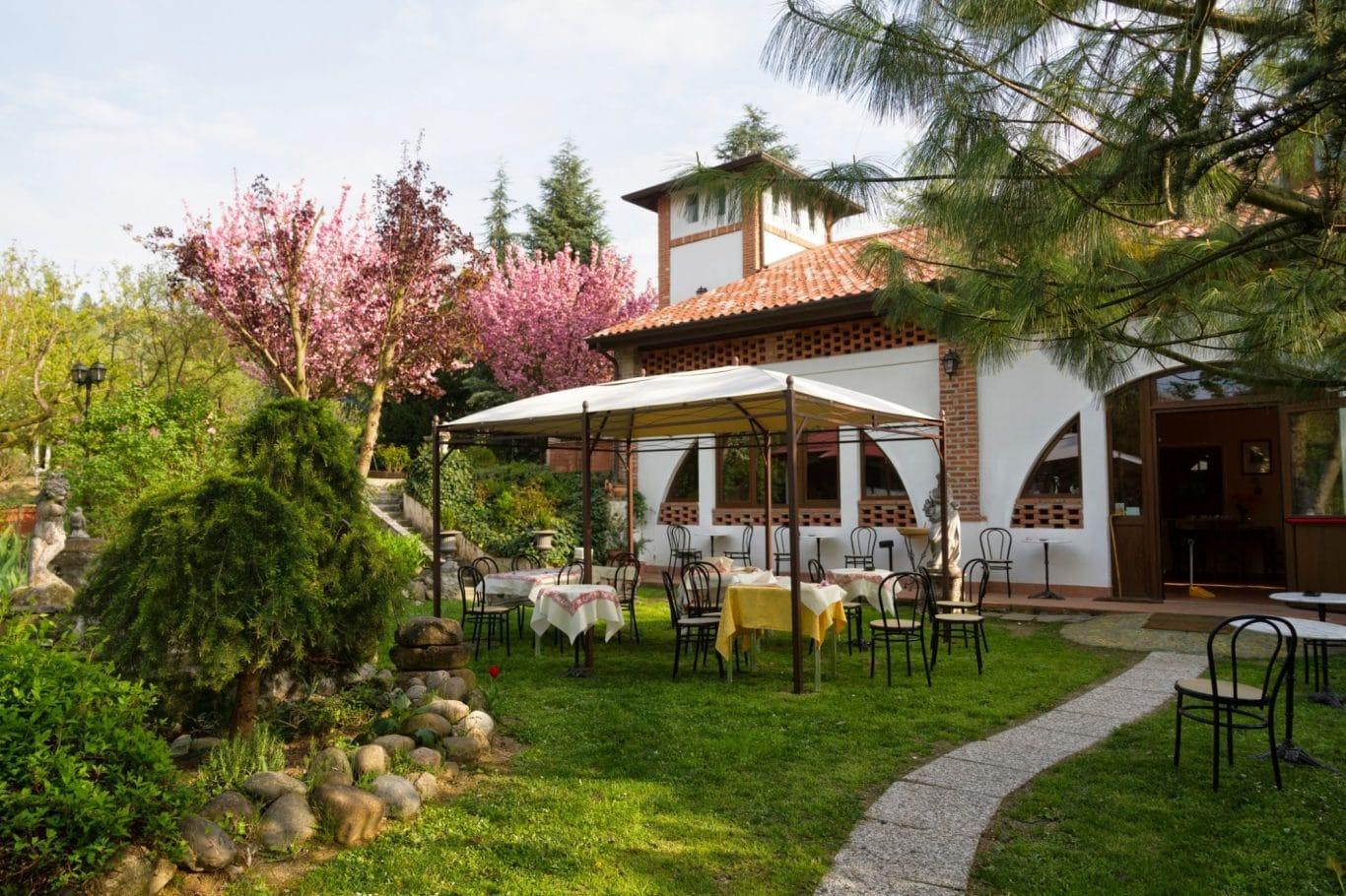 Ristorante domus paradisi cigognola pavia area events - Trattoria con giardino milano ...