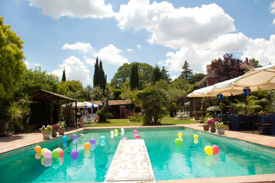 Villa matilda formello roma area events for Idee per party in piscina