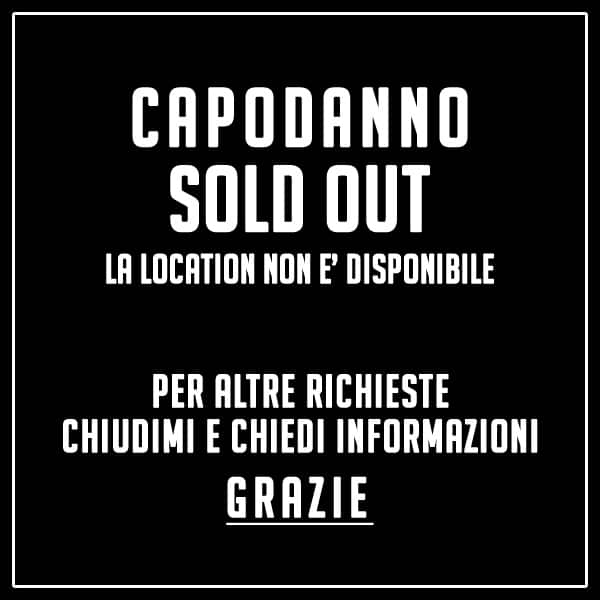 Capodanno Sold Out