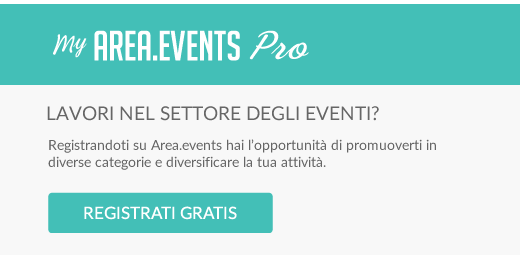 Registrati su Area.events