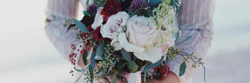 Matrimonio invernale bouquet e fiori