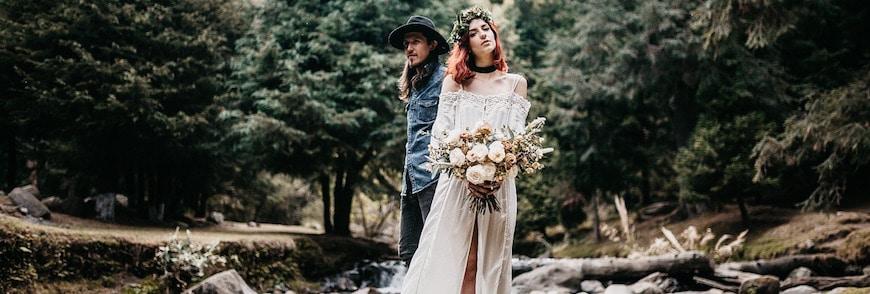 Flower power per un matrimonio vintage