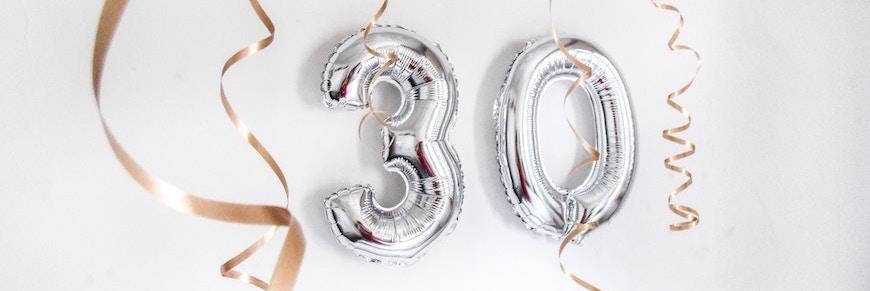 addobbi compleanno 30 anni
