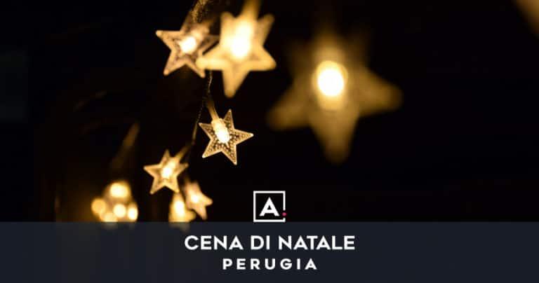 Cena aziendale di Natale a Perugia