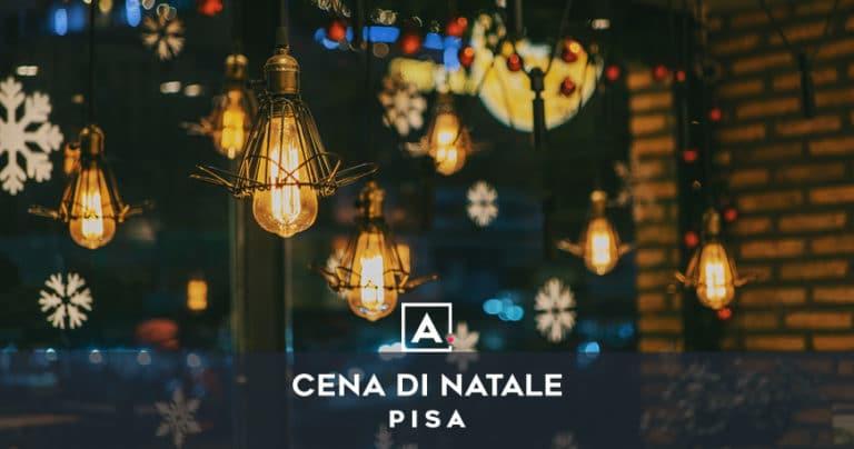 Cena aziendale di Natale a Pisa
