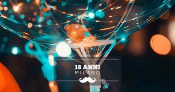 festeggiare 18 anni milano