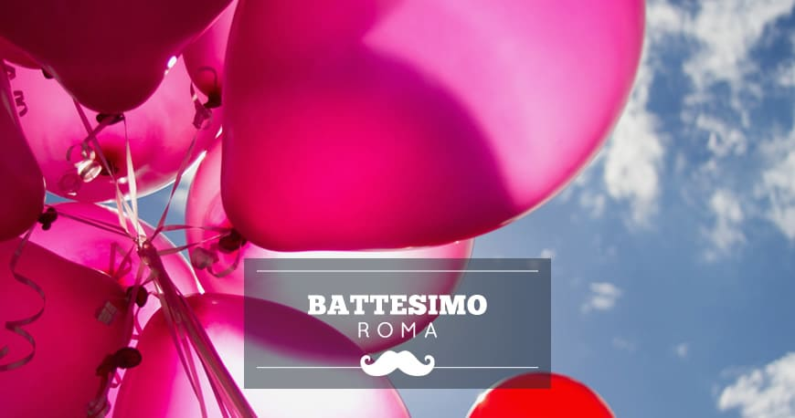 location battesimo roma