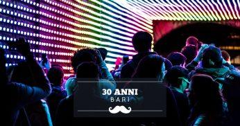 festeggiare 30 anni bari
