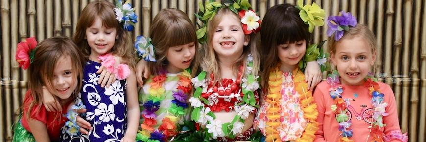 festa hawaiana per bambini