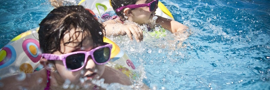 feste in piscina per bambini