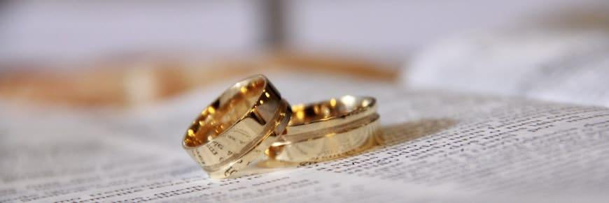 fedi per 50 anni di matrimonio