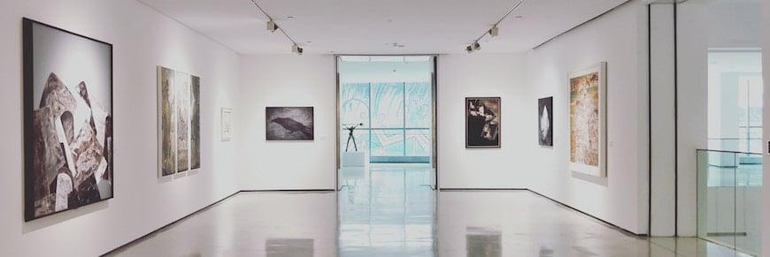 location per mostra d'arte