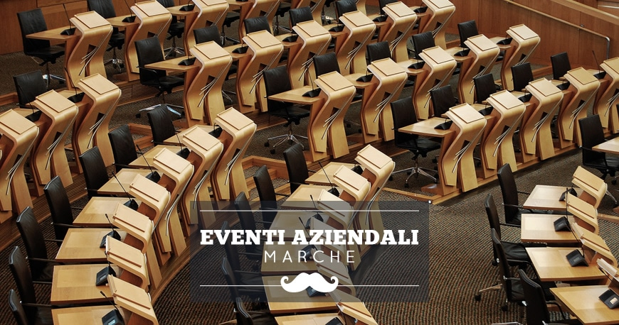 location eventi aziendali marche