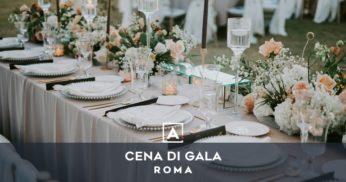 cena di gala roma