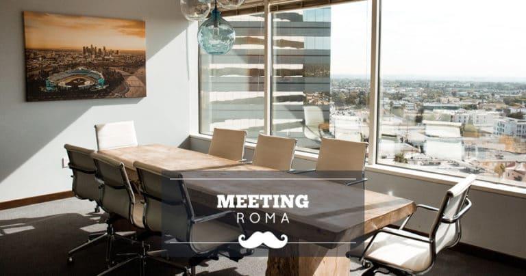 Location per meeting a Roma: sale riunioni in affitto