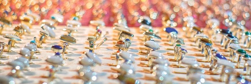esposizione di gioielli