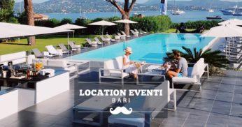 location eventi bari