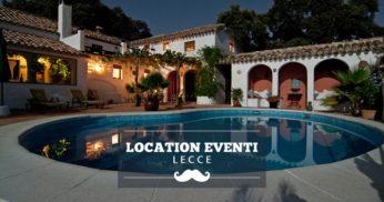 location eventi lecce