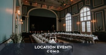 location eventi como