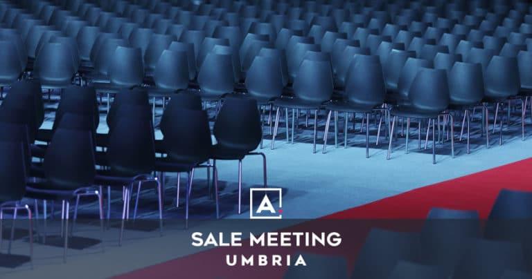 Sale meeting in Umbria: location per congressi