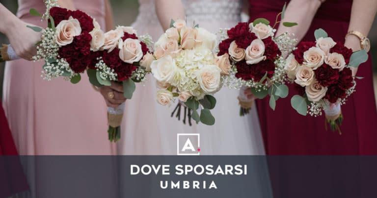 Dove sposarsi in Umbria: le migliori location per matrimoni