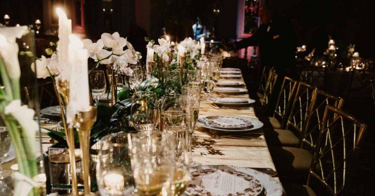 Cena di gala il significato e come organizzarla
